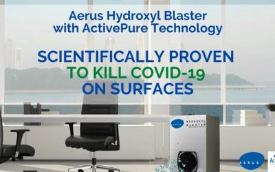Aerus ActivePure Technology Air Purifier Kills COVID-19 on Surfaces in Lab Results